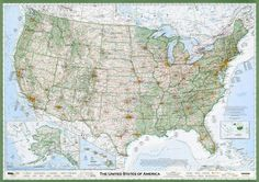 The Greatest Paper Map of the U.S. Ever Made