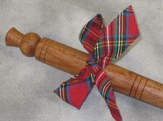 Mahogany Turned Spurtle Scottish Cooking Stick by TimberLeafStudio, $15.00