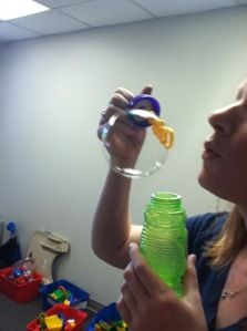 Bubble Fun  -  Pinned by @PediaStaff – Please Visit http://ht.ly/63sNt for all our pediatric therapy pins