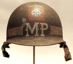 82'd Airbone Military Police (MP) Helmet Stencil