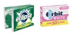 Eclipse or Orbit White BOGO Coupon!