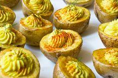 Devilish Potatoes vegan finger food... #vegan #fingerfoods #superbowl