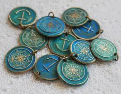 Neat little nautical charms