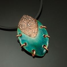 COPPRclay with Thompson Lead Free Enamels.