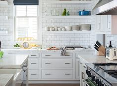 white kitchen + subw