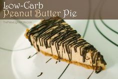 Low Carb Peanut Butter Pie - Trim Healthy Mama (S)