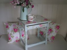 Shabby chic Cath Kidston side table