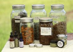 How to preserve medicinal herbs.