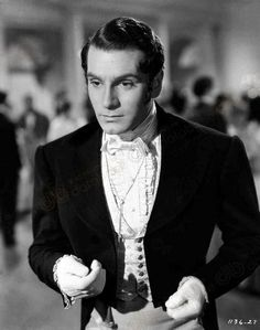 Laurence Olivier as Mr. Darcy, 'Pride and Prejudice' (1940)