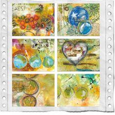 art journal, robenmari smith, journal inspir, mix media, everi life