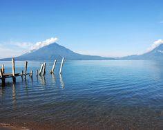 Made this picture at Lake Atitilan near Panajachel, Guatamala.