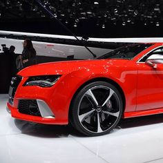 The RS7 #audi