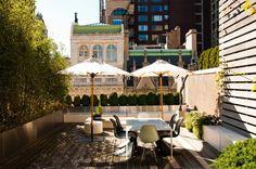 Great city patio
