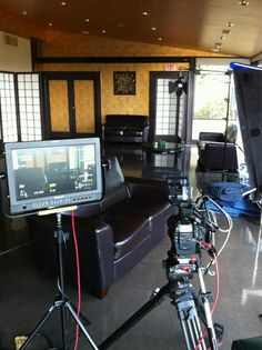 Check out today's (Oct 9) behind the scenes filming set-up @Yamashiro Hollywood restaurant. Just another day in #Hollywood...