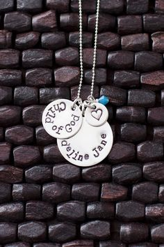 Child of God Necklace, I Am a Child of God, LDS Baptism Gift Idea, Baptism Necklace, LDS Gift. $40.00, via Etsy.
