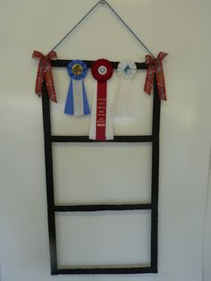 DAZZLING DISPLAYS  Ribbon/Medal/Competitior Number by Horseluxe, $40.00