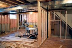 Finishing Basement Walls | Stretcher.com - Making a basement game room more enjoyable