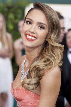#Tendance beauté: les #sourcils épais de #Jessica #Alba.