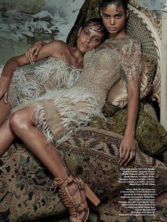 nice Vogue Brazil February 2014 | Mariana Santana, Caroline Prates & Andressa Torres by Zee Nunes