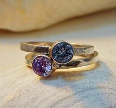 Great idea for Mother's ring (push present).