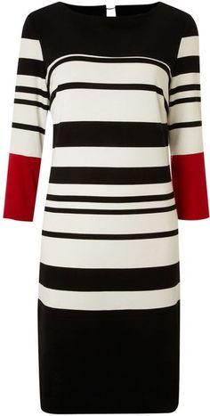 Linea Ponte Stripe Dress