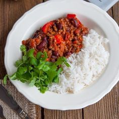 chili con carne pole