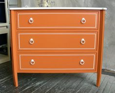 Orange dresser, GO VOLS.