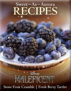 This Halloween Try Maleficent's Sweet As Aurora Recipes. http://www.wdistudio.com/MAL/pnt/MAL_SweetAsAurora.pdf