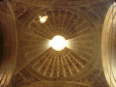 #Cathedral De #Seville #Spain ceiling #andreacatsicas
