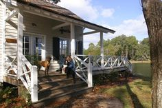 Copp Boat House - traditional - Porch - The Ford Plantation- www.cowartgroup.com - Gerald D. Cowart, AIA, LEED AP