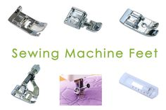 sewing machine feet- which to use when