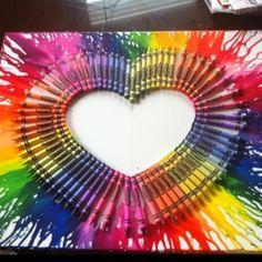 Crayon melting!!