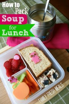 How to Pack Soup for Lunch In 3 Easy Steps  - Family Fresh Meals