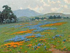 Lot 41: John Marshall Gamble (American, 1863-1957) Mount Tamalpais near San Francisco 18 1/4 x 24 1/4in - Bonhams | Artfact