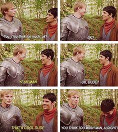 Haha love Merlin bloopers!