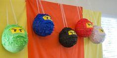 Ninja Go Lego: Handmade Pinatas