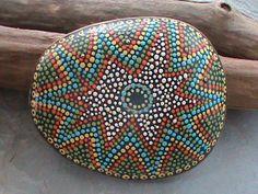 Beach Stone Art by Christine Salva