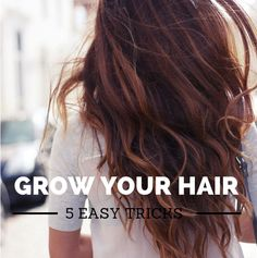 Five Secrets For Growing Your Hair | Blog by the Beach ~ Swimwear World