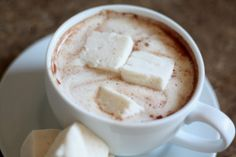 Barefeet In The Kitchen: Simple Homemade Hot Chocolate