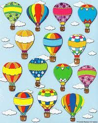 different designs samples to create your own hot air balloon