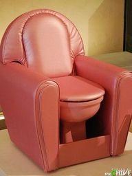chair, toilet, seat, color, dream