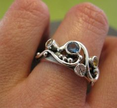 customized mother's ring sterling silver and by bddesigns on Etsy
