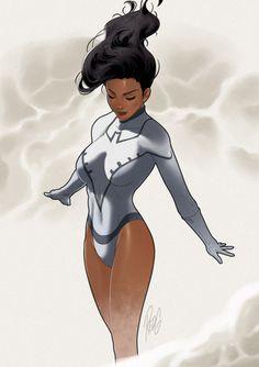 Superheroine.