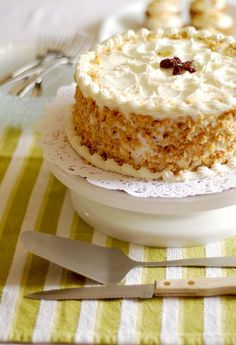 delicious inspiration.: Gluten Free Carrot Cake with Cream Cheese Frosting.