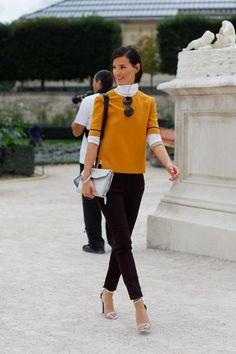 Hanneli Mustaparta - great colours for the fall wardrobe.