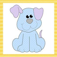 Patchwork moldes cachorrinho para patch aplique - Drika Artesanato - O seu Blog de Artesanato.