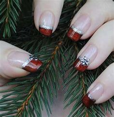 Pinned by www.SimpleNailArtTips.com NAIL ART DESIGN IDEAS - christmas nails