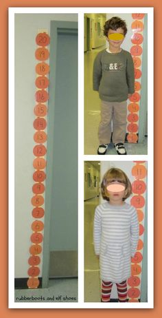 Here's a great set of nonstandard measurement activities using pumpkins.