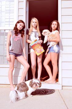teen friends photography