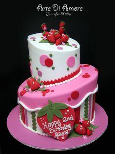 Strawberry Cake by ~ArteDiAmore on deviantART